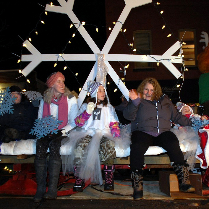 Deerhurst Resort had a festive float