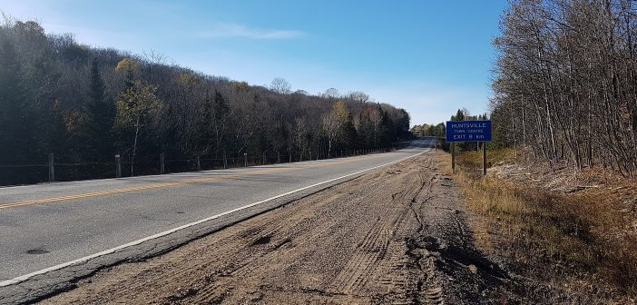 The gravel shoulders on Hwy 60 east of Hidden Valley will be paved next year