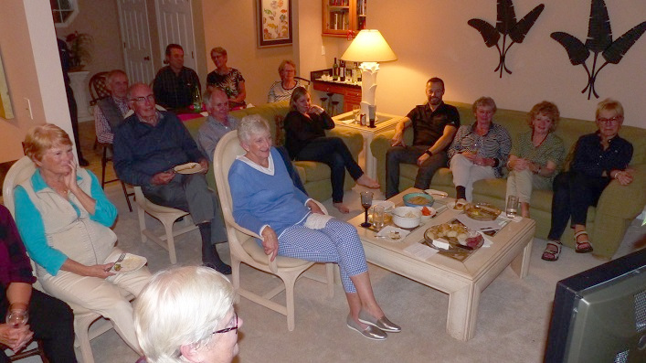A Veterans Christmas.Sights From Home Canadians Host U S Viewing Party Of A