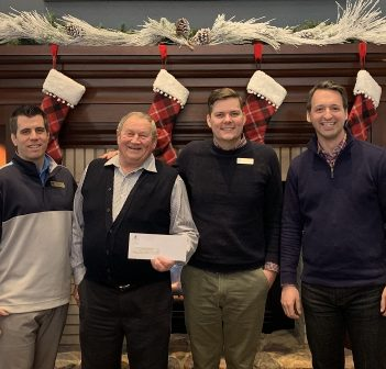 Deerhurst Resort presents the proceeds from the Cottage Country Cup to Muskoka Community Foundation