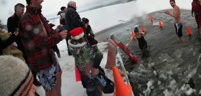 The Huntsville Polar Bear Dip is a refreshing way to bring in the New Year (supplied)