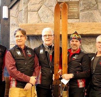 Members of the Arrowhead Nordic Club are thrilled with the new visitor centre at Arrowhead Provincial Park