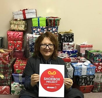 The Muskoka Shoebox Project began delivering shoeboxes to local agencies last week, including Muskoka Parry Sound Sexual Assault Service (Photo: Muskoka Shoebox Project / Facebook)
