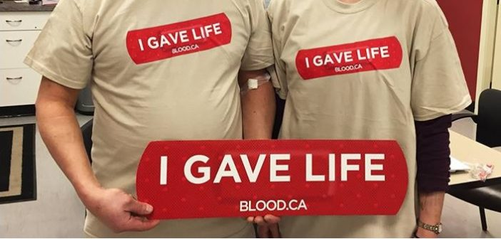 The Canadian Blood Services holiday drive needs more donors (Image: Canadian Blood Services / Facebook)