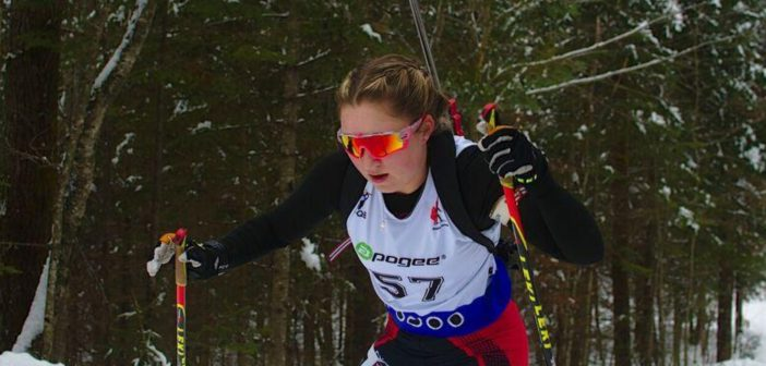 Natasia Varieur at the World Junior Trials in Quebec (supplied)