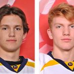 Cole Patey (left) and Connor Punnett have been selected for Team Ontario for the 2019 Canada Winter Games (supplied photos)