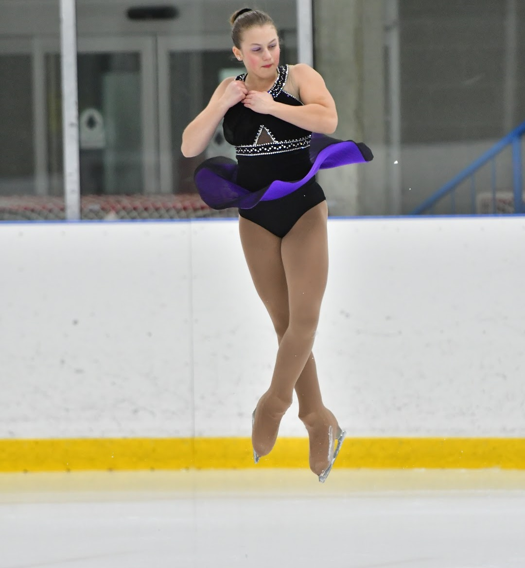 For Kaitlyn Brushey, skating jumps make her feel like she's flying (Photo: Daniel Earl Photography)
