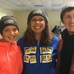 "Members of ""Team Walking Strong and Proud"" at CNOY 2018 (from left) Team ""Walking Strong and Proud"" (from left) Nikki and Katy McGregor and Emily Blackman"