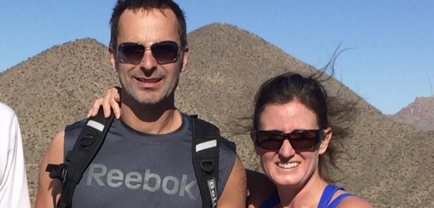 Dave Van Gelder and Dr. Brandy Strelec on a previous adventure. The pair are headed for Nepal in April.