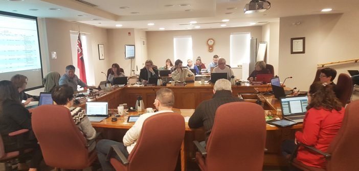Huntsville Council contemplating about a three per cent tax increase in 2019