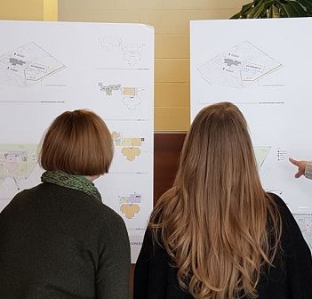 Information on hospital design options was presented at six different community presentations (Photo: mahc.ca)
