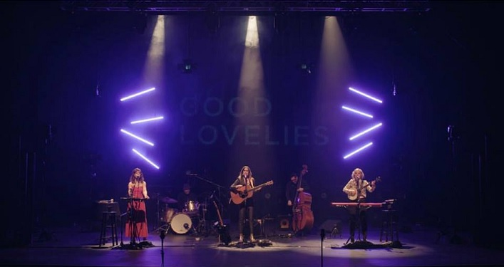 The Good Lovelies live taped their performance at the Algonquin Theatre in February 2019 (Photo Mark Klassen via The Good Lovelies Facebook page)