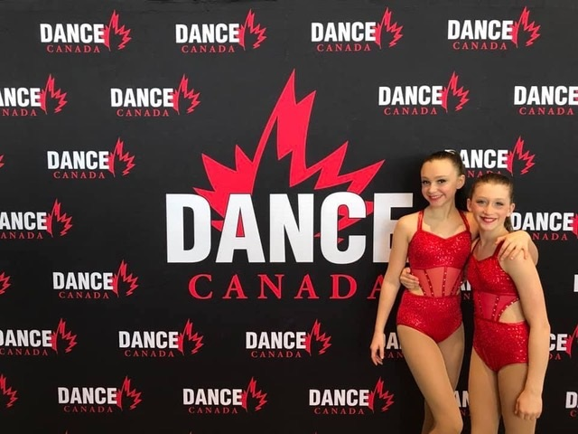 Bella Main and Darian Adams won Dynamic Gold first overall and the second highest score in the Junior Division for their Jazz duet. Bella also received first overall for her open solo and highest score of the Junior Division (supplied)