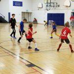 The U10 indoor soccer finals were held at Riverside Public School (supplied)