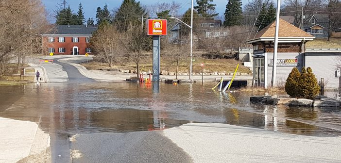 Water levels have hit their peak, but flows remain high: Hernen