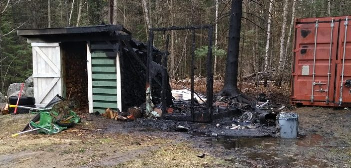 Fire department reminds residents of open-air burning bylaws after fire results in $30,000 damage