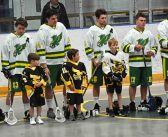 Quinton Groomes remembered during Junior C Hawks' opening game