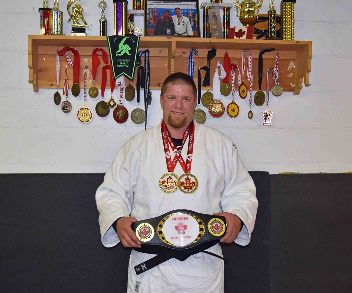Jeff Allen at the Huntsville Judo Club