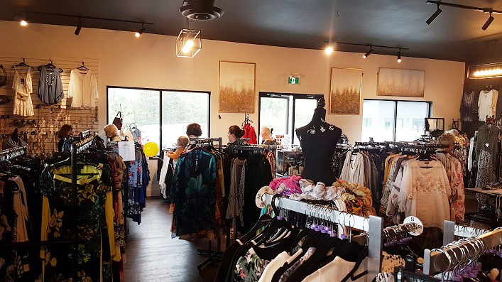 The Cutter's Edge has a large selection of women's fashion