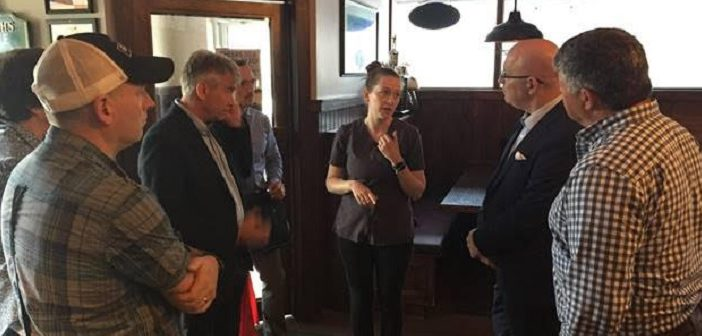 MPP Norm Miller, Minister Clark meet with Muskoka's mayors about disaster relief
