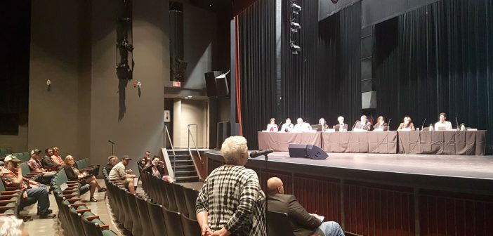 Reprimands, gratitude and a promise to do better all part of public meeting about flooding