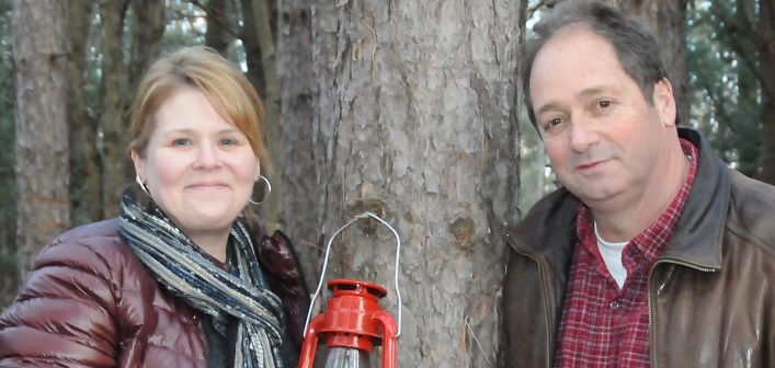 Lisa and Grant Wager have a passion for helping people (supplied)