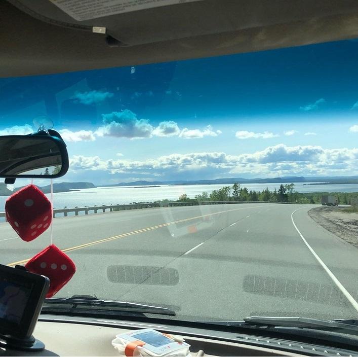 Driving around Lake Superior (Rebecca Francis)