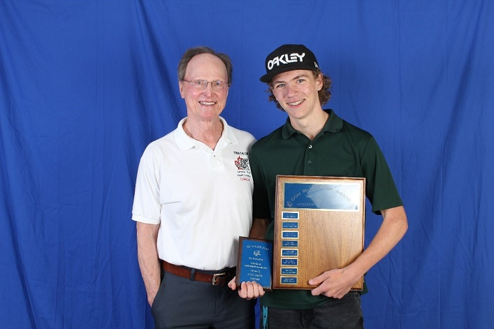 Nick Smith, Don McCormick Award recipient with Don McCormick