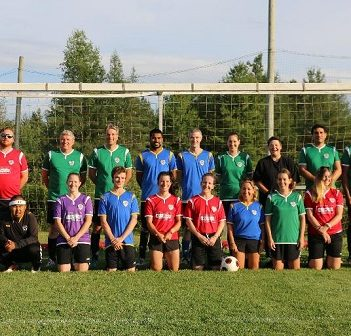 Players from the Huntsville Soccer Club 7 v 7 Co-ed Adult League had a great time this summer (Photo: HSC)
