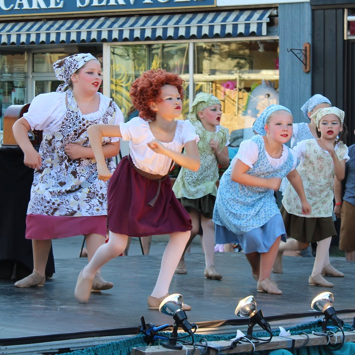 There was some musical theatre, too, courtesy of this Muskoka Dance Academy number, You're Never Fully Dressed Without a Smile from Annie the Musical