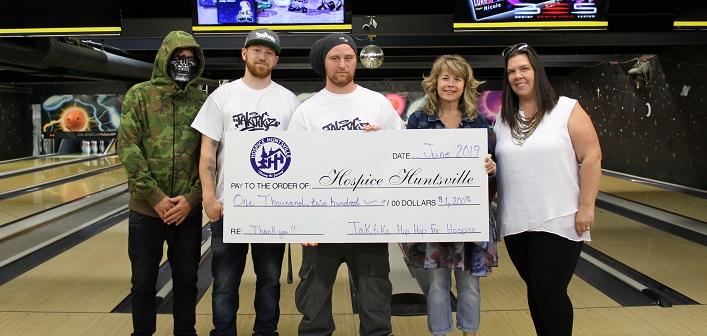 Hip hop fundraiser brings in $1,200 for Hospice Huntsville