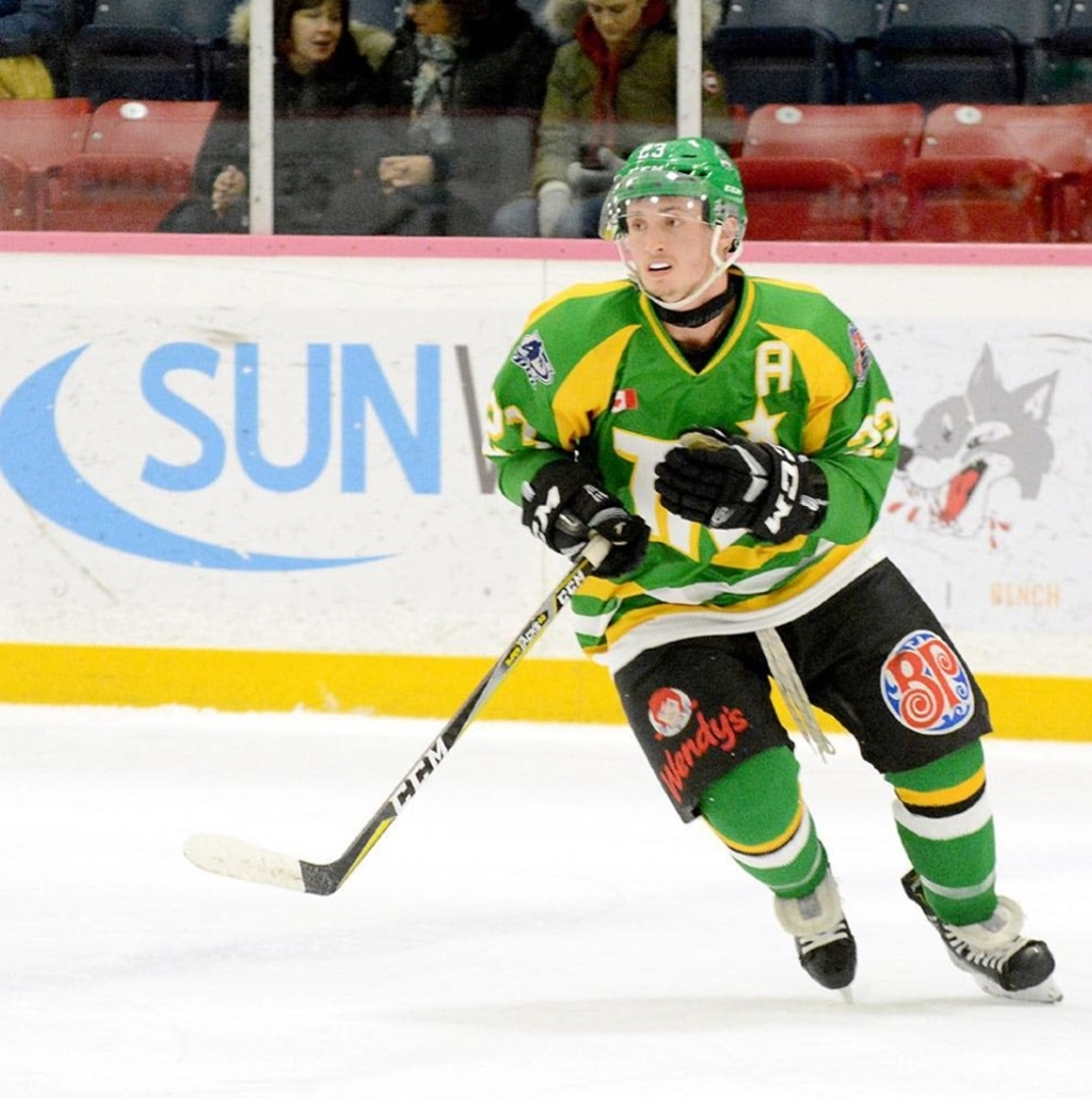 AJ Campbell was named Assistant Captain for the Kirkland Lake Gold Miners Junior A Hockey Club for the 2019/20 season (supplied)
