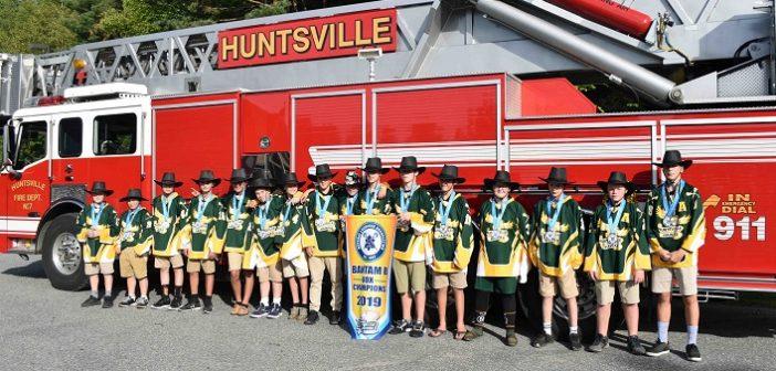 Huntsville Hawks Bantam B Box Lacrosse Champions