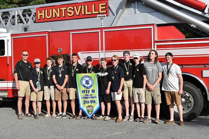 Huntsville Hawks U17 D Field champions