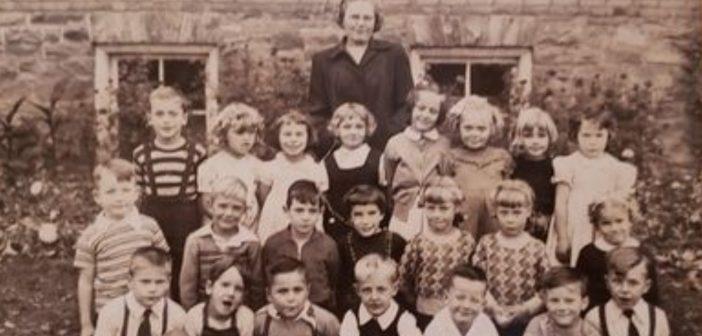 Mrs. Bice's kindergarten class at Huntsville Public School, 1950 (supplied)