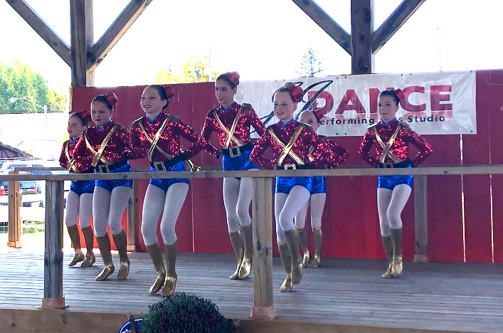 JJ Dance studio put on an energetic show for fairgoers