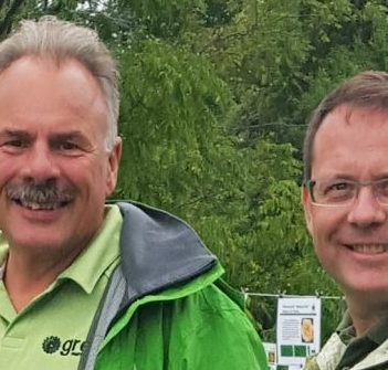Parry Sound-Muskoka Green Party candidate Gord Miller and Ontario Green Party leader Mike Schreiner will be in Huntsville on Sunday, September 15, 2019 (supplied)