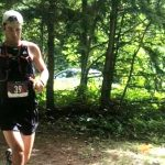 Kip Arlidge at the 2019 Haliburton Forest Trail Race (Photo: Bonnie Fowler‎)