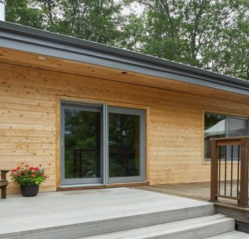 This Baysville-area home received an environmentally friendly reno including straw bale insulation (supplied)