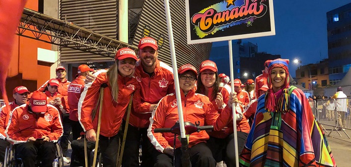 Dr. Rich Trenholm at the Para Pan American Games