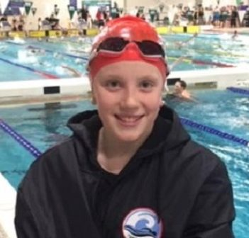 Hayley Oke at Ontario Festivals (MUSAC coach Morgan Kierstead)