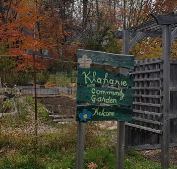 The Klahanie Community Garden currently occupies a portion of River Mill Park