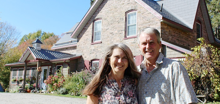 Morgan House Bed and Breakfast hosts Pam Carnochan and Jamie Honderich have been welcoming guests from around the world for 25 years