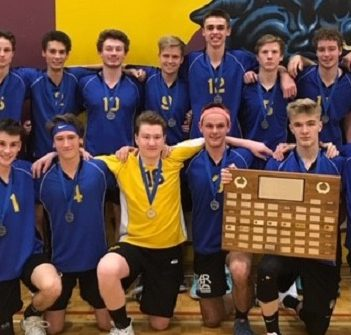 Athletes of the Week: HHS senior boys volleyball team