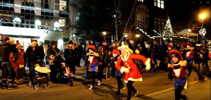 The Muskoka Dance Academy amped up the Christmas spirit