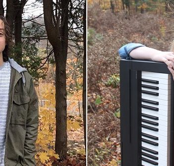 Sawyer Lance (left) and Briar Summers are two young musicians already making their mark