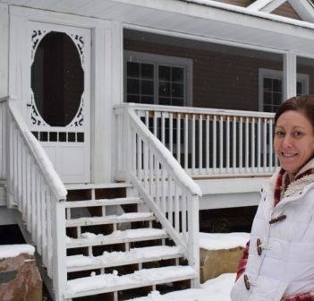 Bridget Austin and her family are finally getting some relief from their homeowners nightmare (Mandi Hargrave)