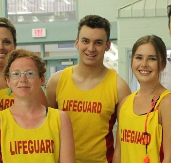 Town of Huntsville lifeguards (Town of Huntsville)