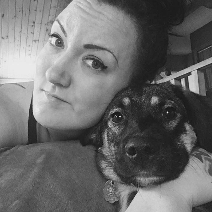 Michelle Ainsworth with her beloved dog, Sookie (Michelle Ainsworth)