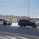Hwy 11 was closed for several hours on Dec. 6 following a fatal collision (Tamara de la Vega)